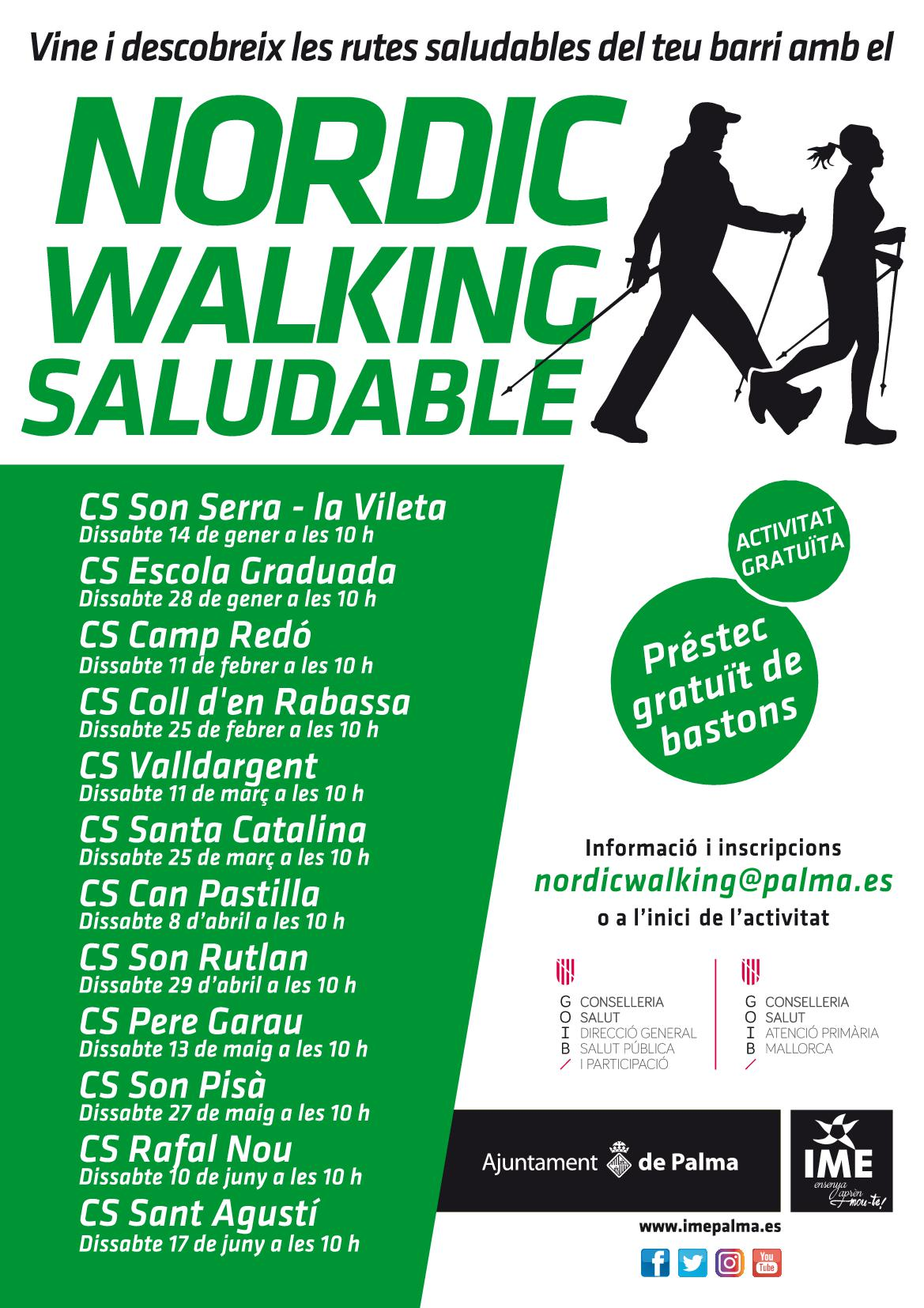 Nordic Walking Saludable 2017
