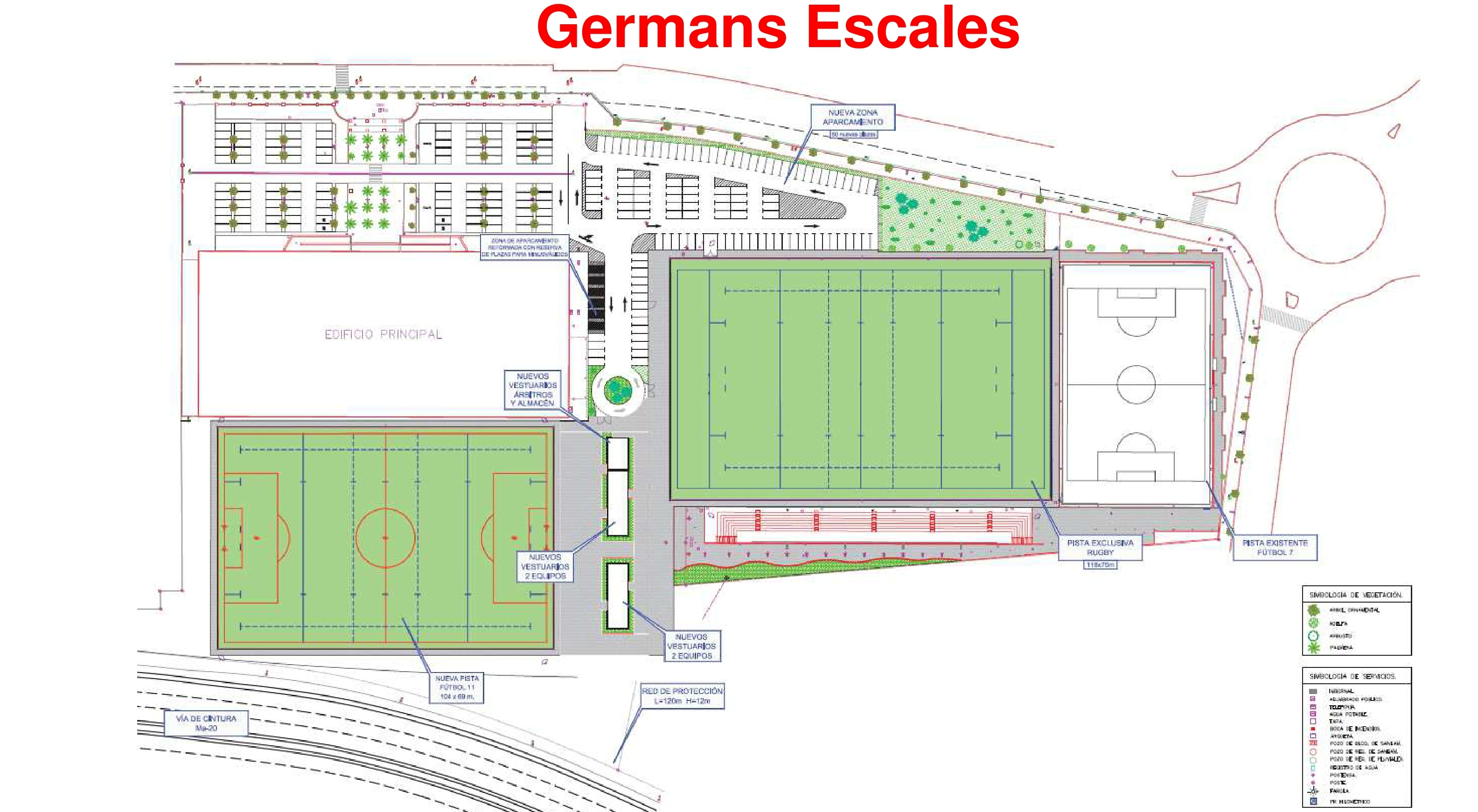 rugbi germans escalas