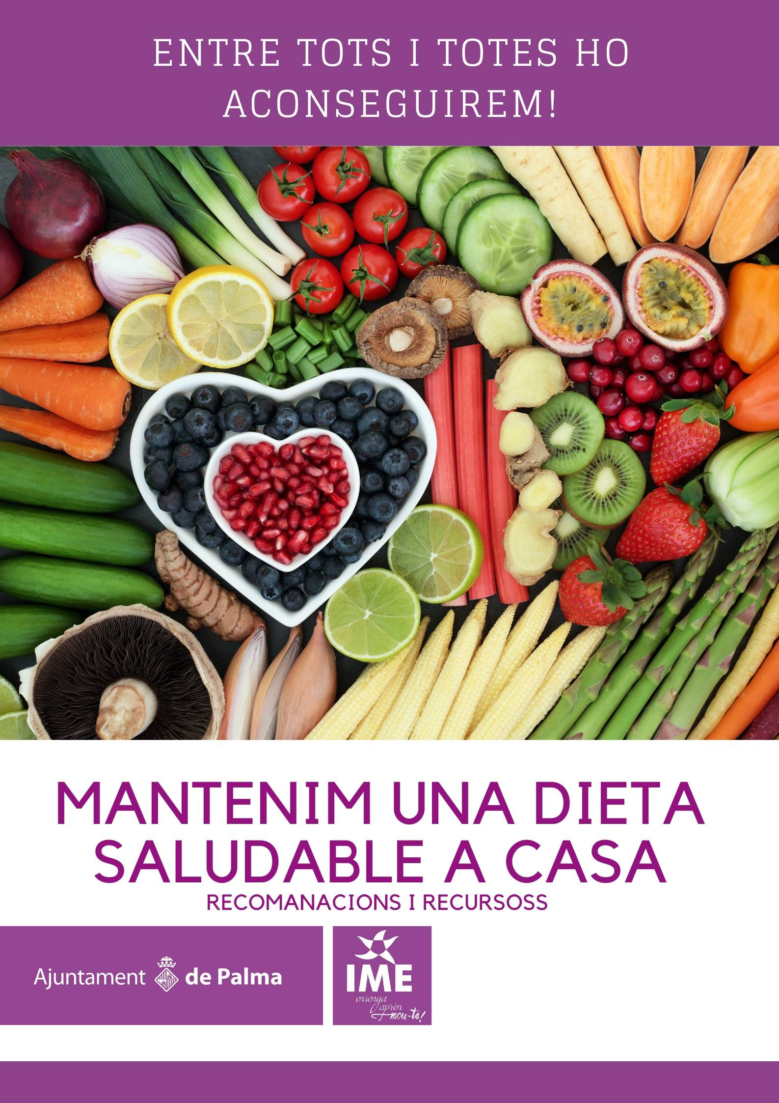 Mantenim una dieta saludable a casa