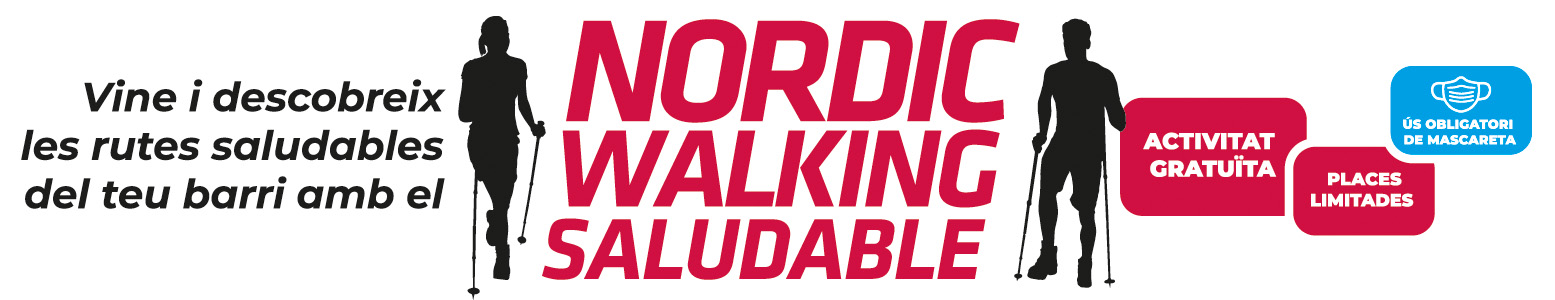 Banner Nordic Walking Saludable 2 trimestre 2021